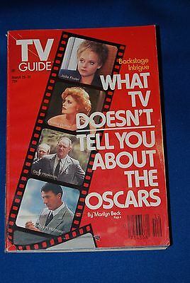 """T.V.Guide Mar 25-31,1989-""""What TV Doesn't Tell You About The Oscars""""-NYC Edition"""