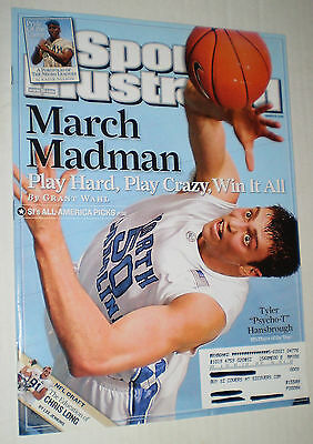 Sports Illustrated – SI's Player of the Year, Tyler Hansbrough – March 10, 2008