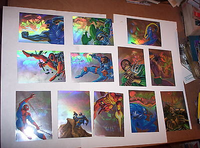 1995 FLAIR MARVEL ANNUAL HOLOBLAST CHASE CARD SINGLES! DEADPOOL SPIDERMAN! VENOM