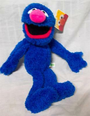 "NICE SOFT! Sesame Street GROVER 15"" Plush STUFFED ANIMAL Toy NEW"