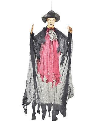Morris Costumes Bowler Man 36 In Large Decorations Halloween Hanging Prop. VA101