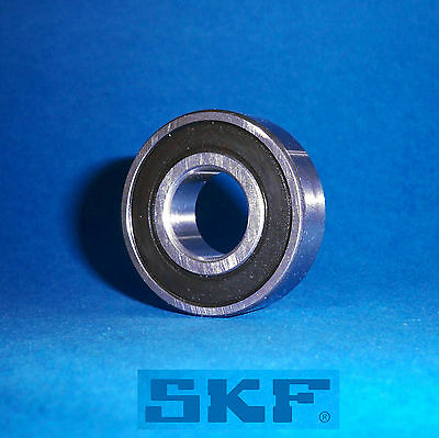 1 Kugellager 6002 2RS / Markenware SKF / 15 x 32 x 9 mm
