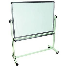 """Luxor 36""""W X 24""""H Mobile Reversible Magnetic Whiteboard"""