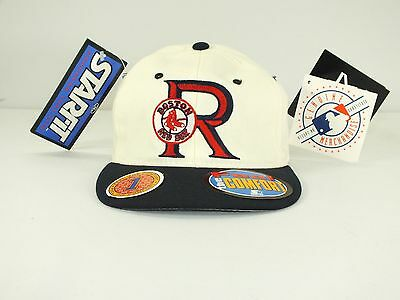 Boston Red Sox Mlb  90's Rare Vintage Hat Flex/fitted Cap New By Starter E-79