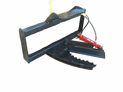 Skidsteer Tree Shear Bobcat Skid Steer Quick Attach  Free Shipping