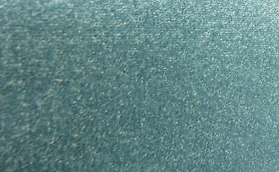 Funky Frozen Turquoise - Blue felt-back Carpet *£5.99sqm* FREE DELIVERY