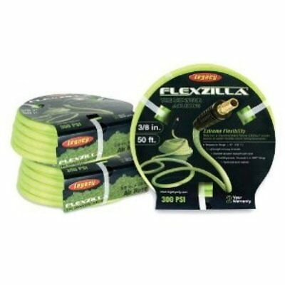 Legacy HFZ3850YW2 Flexzilla 3/8 by 50 Zilla Green Air Hose with 1/4 Ends , New,
