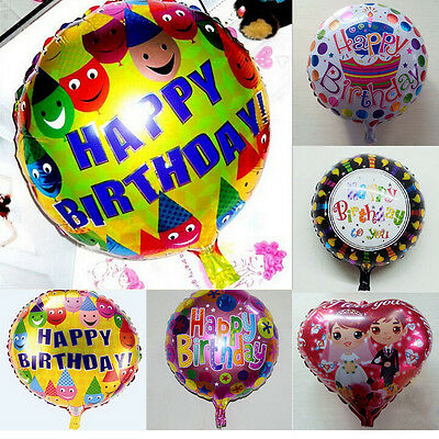 """18"""" kids Foil Balloons Christening Kids birthday Party Decoration  Supply Gift"""
