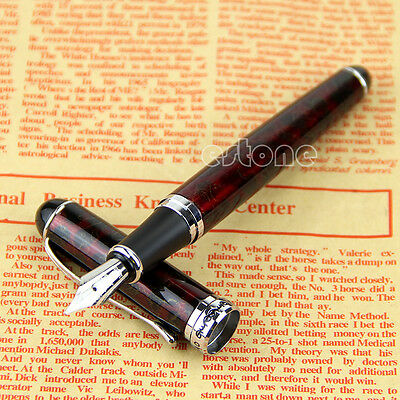 JINHAO x750 Fountain Pen Lava Red Medium Nib  New