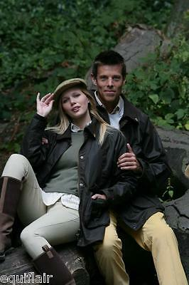 John Partridge Cob Unisex Wax Country Jacket - Brown