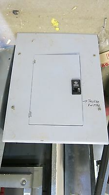GE TL12412C 125 Amp Main Lug 120/240V, 12 Circuit Load Center- E1438
