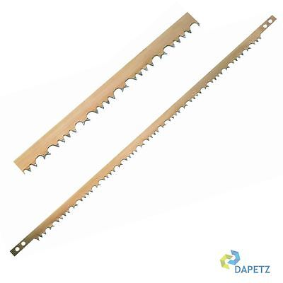 "Raker Teeth Tooth Bow Saw Blades 21"" 530mm Wet Wood - Buy 1 Get 1 Free"