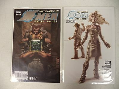 Astonishing X-Men Ghost Boxes Complete Run/Set 1 2 Marvel Limited Series