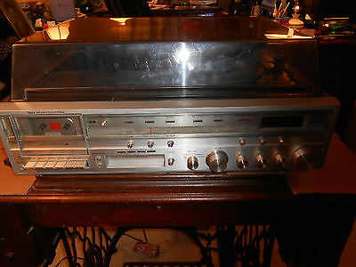 Stereo system, AM/FM  tuner, 8 track player, cassette, see & hear the video!!