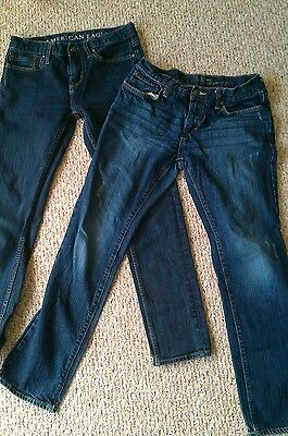 lot of 2 pairs of mens jeans, American Eagle, Old Navy, size 30/32 and 31/32
