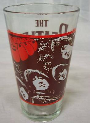 VINTAGE STYLE THE BEATLES RUBBER SOUL ALBUM COVER PINT DRINKING GLASS CUP NEW