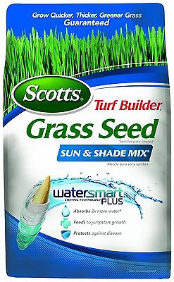 Scotts Turf Builder Grass Seed - Sun and Shade Mix, 3-Pound (Not Sold in Loui...