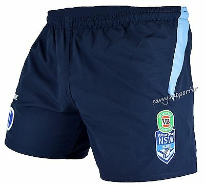 NSW Blues State of Origin NRL Playing Shorts Select Size S-4XL BNWT5