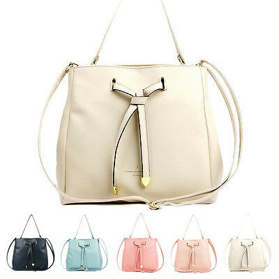 New Hot Korean Ladies Casual Cute Travel Tote Wholesale Faux Leather Satchel Bag