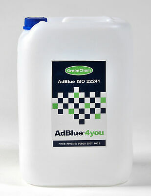 AdBlue 10L Ltr Litre with FREE Spout Commercial Automotive Vehicles ISO22241 DEF