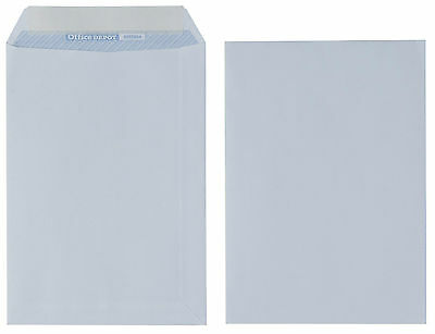 Premium C5 110gsm White Peel and Seal plain Envelopes - Box of 500 NO WINDOW