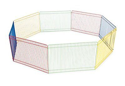 Prevue Pet Products SPV40090 Small Animal Exercise Play Pen, 13-Inch , New, Free