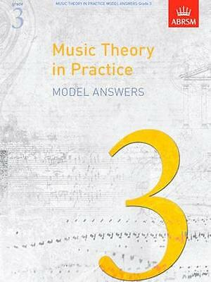 ABRSM: Music Theory in Practice, Grade 3 (Model Answers) AB1168