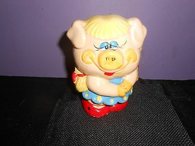Miss Piggy Ceramic Piggy Bank