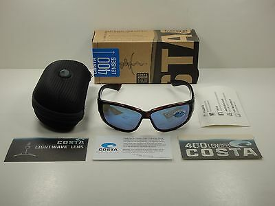 17afc1dc7993c Costa Del Mar Sunglasses Luke Lk10 Bmglp Tortoise blue Glass Mirror 400G  Lens