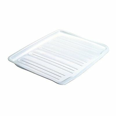Rubbermaid Antimicrobial Drain Board Large, White , New, Free Shipping