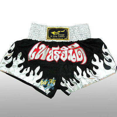 New UFC Muay Thai Trunks Auth MMA Combat Shorts Grappling Kick Boxing Shorts