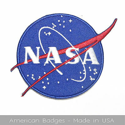 "NASA VECTOR INSIGNIA ""The Meatball,"" Embroidered Patch - Made In USA Quality"