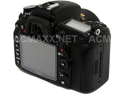 "ACMAXX 3.2"" HARD LCD SCREEN ARMOR PROTECTOR for NIKON D7200 DSLR Body D-7200"