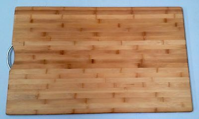 Large Chopping Board 50 x 80 cm Cut Cutting Carbonized Bamboo