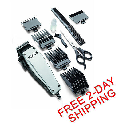 Andis Professional Hair And Beard Cut Trimmer Clipper Haircut Barber Set Groomer