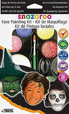 Snazaroo Face Paint Palette Kit - Halloween , New, Free Shipping