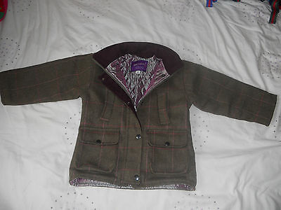 Children's Tweed Jacket - Sizes 2-3, 4-5, 6-7 and 8-9 Years - Shire Classics
