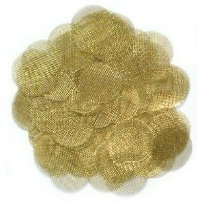 """1"""" Brass Debris Screens for Solvent Trap Cleaning Tubes"""