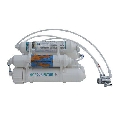 5 Stage 75GPD Portable Countertop Reverse Osmosis RO System with DI 0PPM filter
