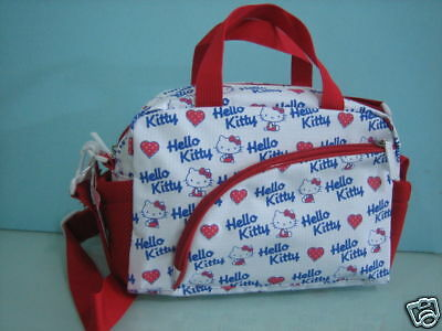 Hello Kitty Shopping Hand Bag With Shoulder Strap Free P+P