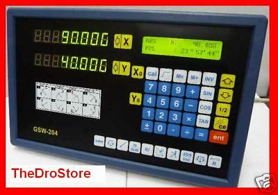 TDS LCD Digital Readout +2 Scale - Mill / Lathe DRO - us