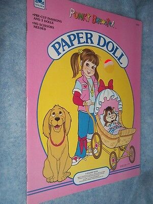 1986 Golden- Punky Brewster Paper Doll