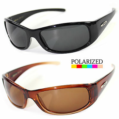 Men's Polarized Sunglasses Wrap Driving Aviator Outdoor sports Eyewear Glasses