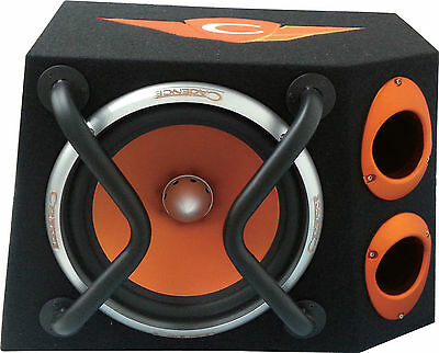 "Cadence UDX12 12"" Subwoofer 350W Car Sub Heavy Duty Steel Ported Enclosure"