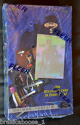 UNOPENED 1995 Fleer Ultra Batman Forever trading collector cards box of 36 packs