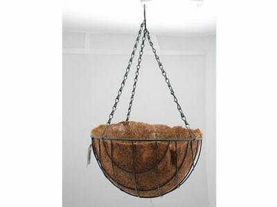 12 x Hanging Basket With Liner And Chain Gardening Deco D30cm Wholesale lot