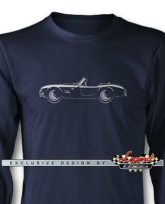 1964 AC Shelby Cobra 289 FIA Long Sleeves T-Shirt - Multiple Colors and Sizes