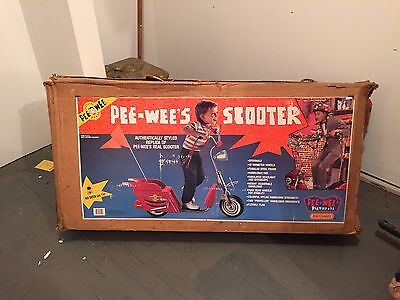 Pee Wee Herman Scooter Mint Condition. Never Assembled.