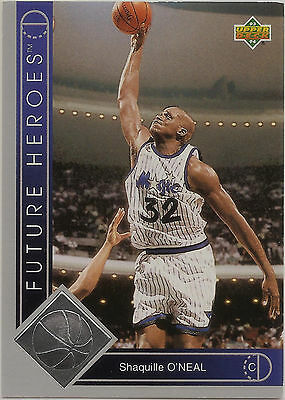 Off-grade 1993-94 Upper Deck Future Heroes #35 Shaquille O'Neal Shaq Magic LSU