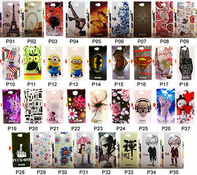 Hard Plastic Case Cover For Sony Xperia C S39h C2305 Girl Tower Love Heart Lady
